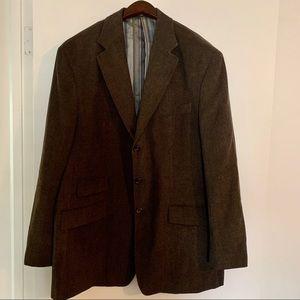 Dark Brown Men's Sport Coat by Joseph Abboud-44R